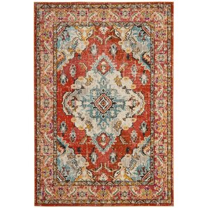 area rug orange orange rugs you u0027ll love wayfair