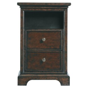 Ashcraft 2 Drawer Nightstand by Darby Home Co