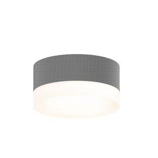 Algarin 1-Light LEDFlush Mount by Latitude Run
