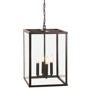 JVI Designs Carnegie 4-Light Square/Rectangle Chandelier