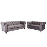 Farrington Gurney 2 Piece Standard Living Room Set by House of Hampton®