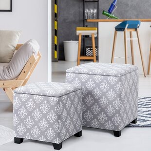 Robena 2 Piece Storage Ottoman Set by Winston Porter