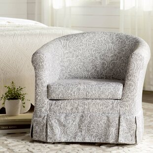 Cayeman Barrel Chair by Ebern Designs