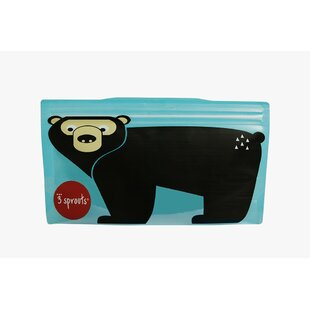 3 Sprouts Bear Snack Bag (Set of 2)