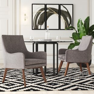 Derrico Armchair (Set of 2) by Mercury Row