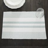 Newenton Striped 19 Cotton Placemat (Set of 6)