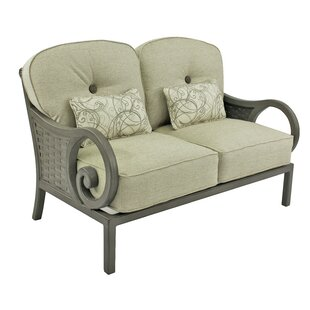 Leona Riviera Loveseat with Cushions