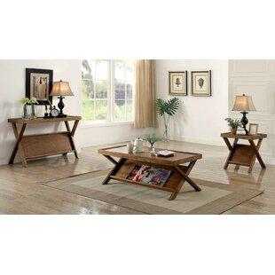 Loon Peak Sorenson 3-Piece Coffee Table Set