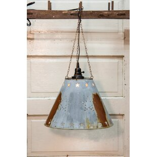 Galvanized Star 15.25Metal Empire Lamp Shade