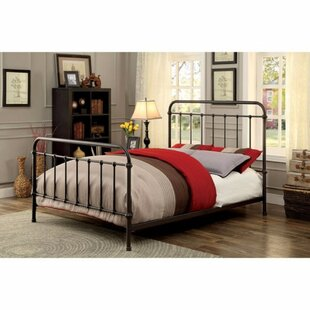 Gracie Oaks Blas Metal Panel Bed