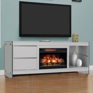 Tukwila TV Stand for TVs up to 80 with Electric Fireplace