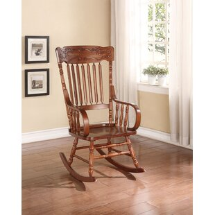 Read Reviews Oxfordshire Rocking Chair by Charlton Home Reviews (2019) & Buyer's Guide