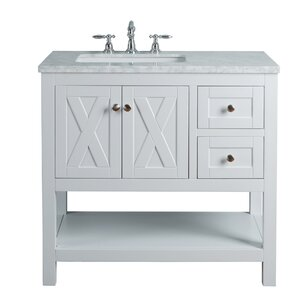 one sink vanity cabinets. Marilyn 36  Single Bathroom Vanity Set Vanities Joss Main