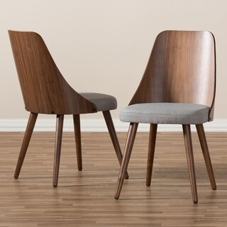 Wiebe Solid Wood Dining Chair (Set of 2) by George Oliver SKU:EC308746 Purchase