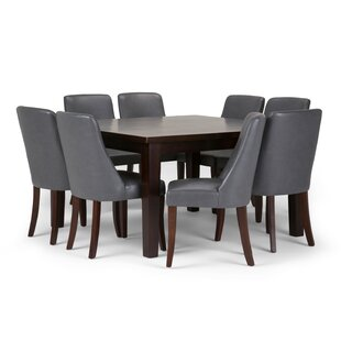 Bouie 9 Piece Dining Set Canora Grey