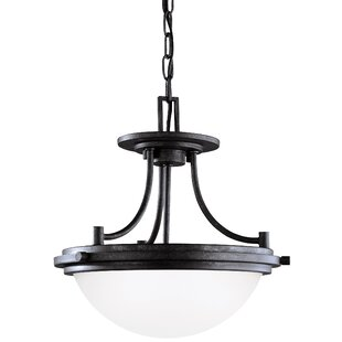 Three Posts Dashiell 2-Light Bowl Pendant