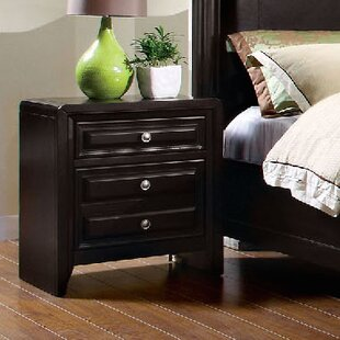 Mattapan 3 Drawer Nightstand