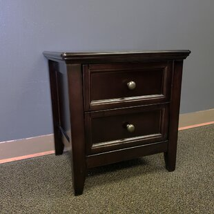 Alcott Hill Younker 2 Drawer Nightstand