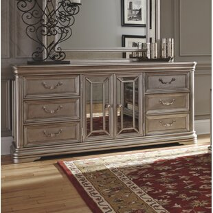 Fleur De Lis Living Goldberg 6 Drawer Combo Dresser