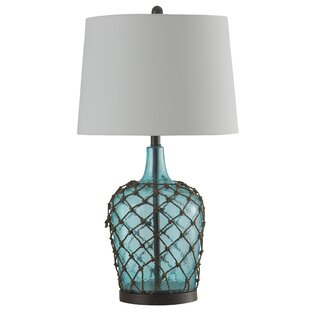 Reviews Hicklin Cayos 30 Table Lamp By Highland Dunes