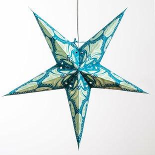 Lotus Paper Star Pendant b..