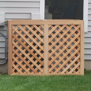 Grown For You Wood Lattice Panel Trellis