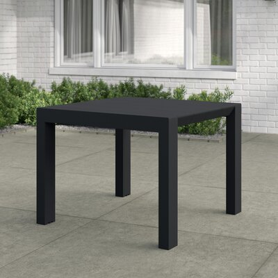 Curnutt Square Plastic 29.5 Inch Dining Table by Mercury Row Herry Up
