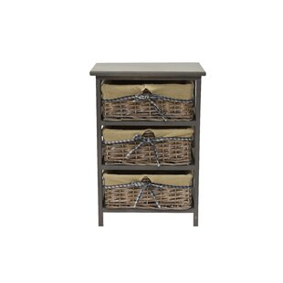 Alberta 3 Drawers Accent Chest by Rosalind Wheeler
