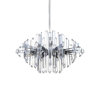 """Facets LED Novelty Chandelier Blackjack Lighting Size: 19.5"""" H x 31.5"""" W x 31.5"""" D"""