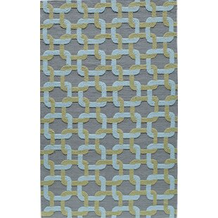 Hand-Tufted Purple/Blue Indoor/Outdoor Area Rug
