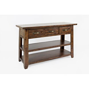 Clintonpark Wooden Console Table by Loon Peak