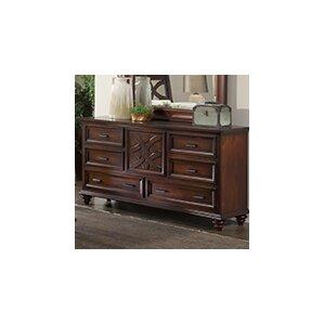 Cayman 6 Drawer Standard Dresser by Wildon Home ?