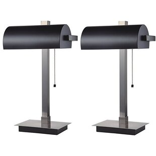 Lewie 22 Banker Table Lamp (Set of 2)