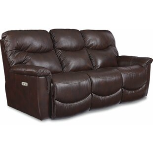 James LA-Z-TIME® POWER-RECLINE Sofa with Power Headrest by La-Z-Boy