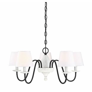 Si 5-Light Shaded Chandelier
