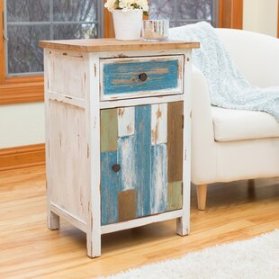Cottage 1 Drawer Accent Cabinet by Highland Dunes