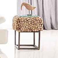 Pebble End Table