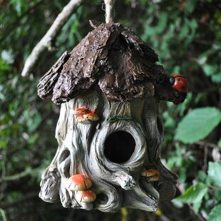 Ladybug Tree Hanging Bird House By Sol 72 Outdoor
