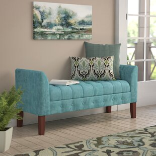Hana Upholstered Storage Bench by Andover Mills