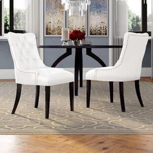 Rosdorf Park Burnett Upholstered Dining Chair (Set of 2)