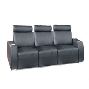 Bass Executive Home Theater Sofa (Row of 3)