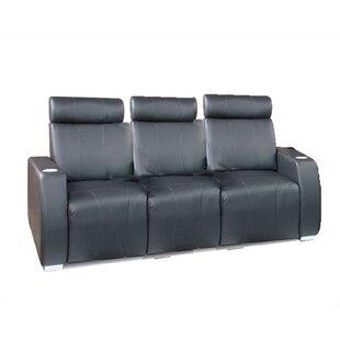Bass Executive Home Theater Sofa (Row of 3)