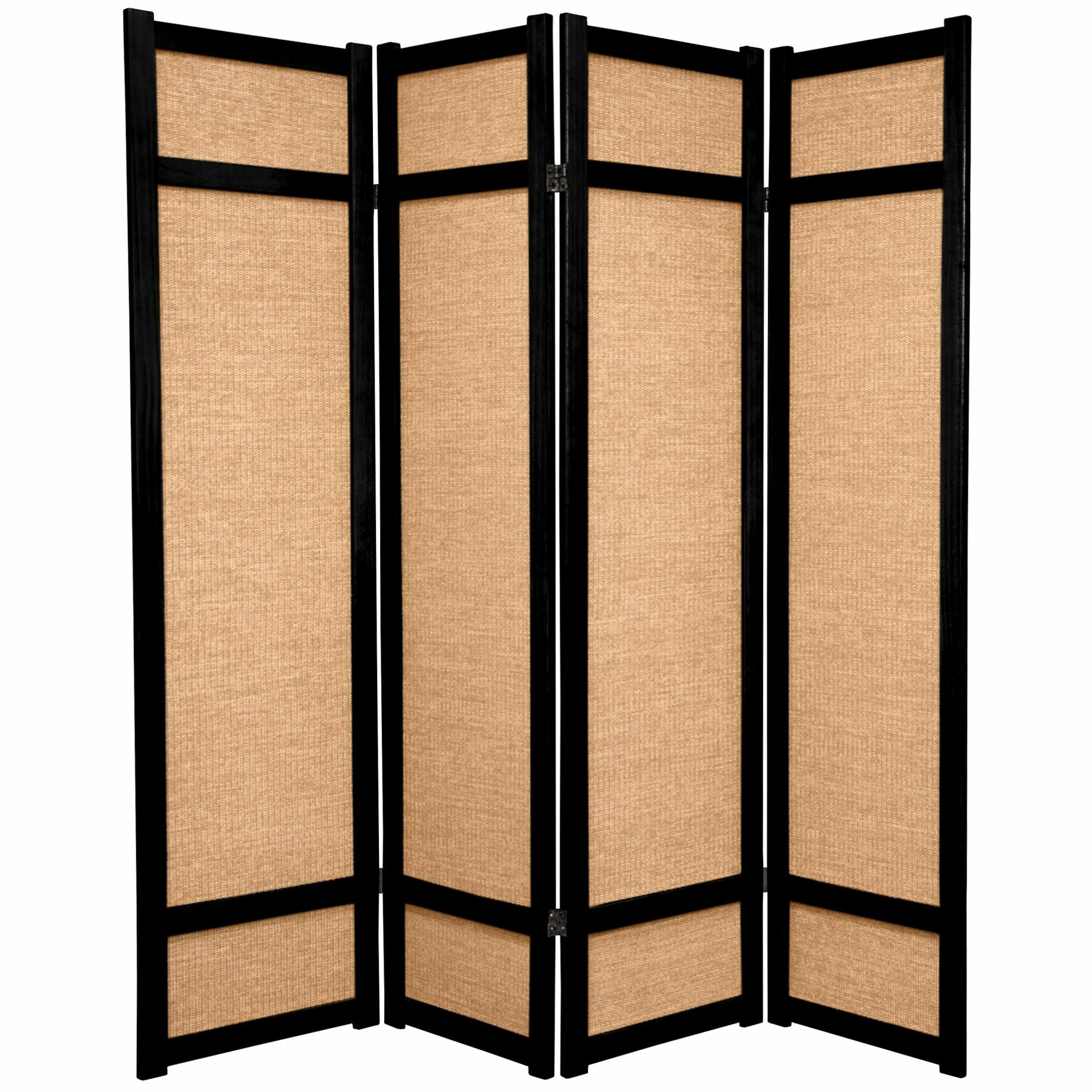 World Menagerie Clarke 68 W X 71 H 4 Panel Solid Wood Folding Room Divider Reviews Wayfair