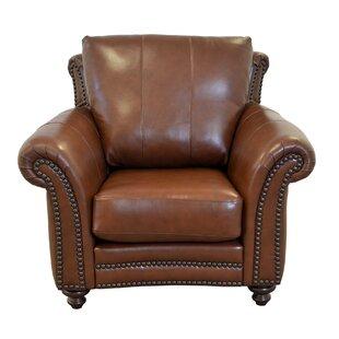 Westland and Birch Clinton Leather Club Chair