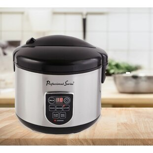 20 Cup Digital LED Display Stainless Rice Cooker