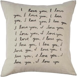 Tulare I Love You Throw Pillow