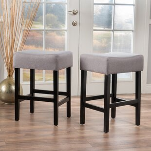 Ingleside 25 Bar Stool (Set of 2) by Latitude Run