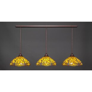 Red Barrel Studio Blaney 3-Light Kitchen Island Pendant