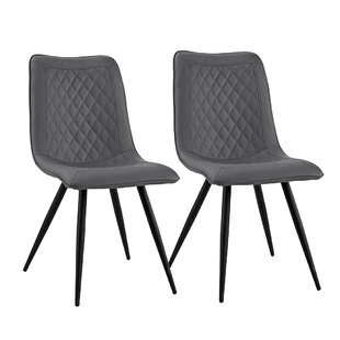 Wrought Studio Giancola Upholstered Dining Chair (Set of 2)