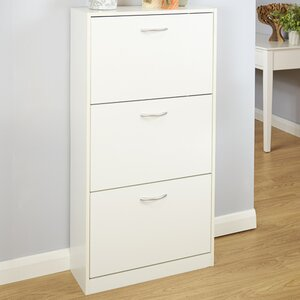 Humphrey 18-Pair Shoe Storage Cabinet